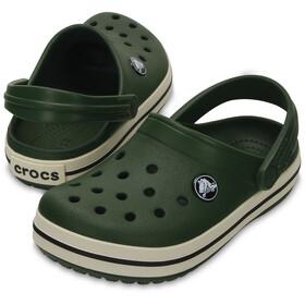 Crocs Crocband Clogs Kinder forest green/stucco